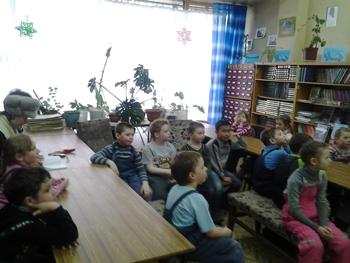 Неделя детской и юношеской книги  в библиотеке-филиале им. Д. Мамина - Сибиряка