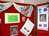 Экспозиция творческих работ в большом зале Центральной библиотеки им. А. Н. Зырянова