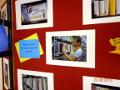 Открытие выставки фото-любителя, учащейся Лицея №1 Евгении Берсенёвой в Большом зале Центральной библиотеки им. А. Н. Зырянова