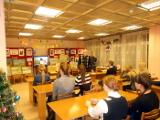 Встреча с писателем в большом зале Центральной библиотеки им. А. Н. Зырянова