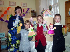 Новогодние праздники в в библиотеке им. К.Некрасовой