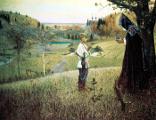 Житие Преподобного Сергия Радонежского в картинах художников