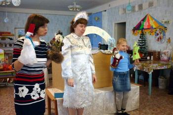 Новогодняя премьера в библиотеке им. К.А. Некрасовой