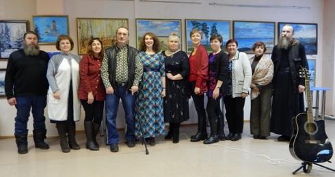 Творческая встреча с авторской песней в Центральной библиотеке им. А.Н. Зырянова